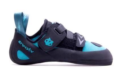 Скальные туфли Evolv Kira, turquoise/black, 7.5 US