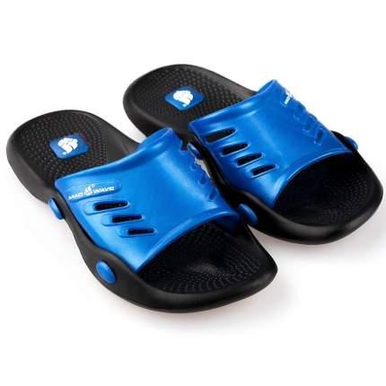 Шлепанцы MadWave Standart II, black/blue, 43 RU