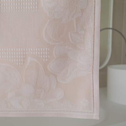 Полотенце 70x140см LE JACQUARD FRANCAIS VOLUPTE, цвет розовый, 100% хлопок
