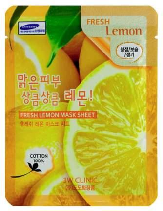 Маска для лица 3W Clinic Fresh Lemon Mask Sheet 23 мл