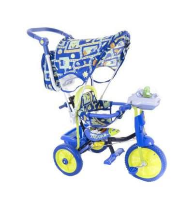 Детский трехколесный велосипед Jaguar синий