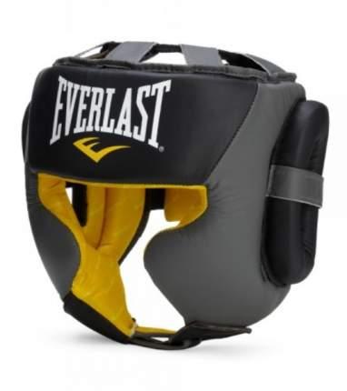 Шлем боксерский Everlast C3 Professional Sparring, S-M, нат. кожа