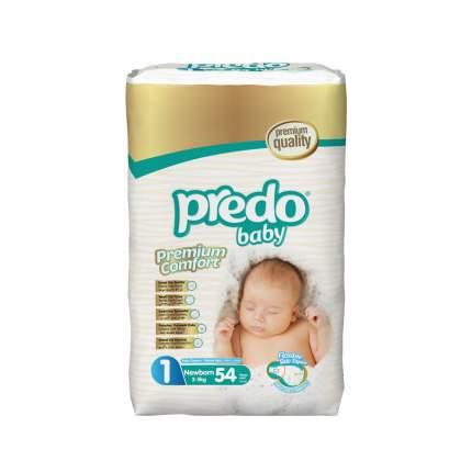 Подгузники Predo Baby Преимущественная пачка (54 шт.) № 1 (2-5 кг.) новорожденный