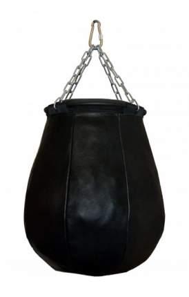 Боксерская груша РОККИ натуральная кожа 50х40 см 35 кг