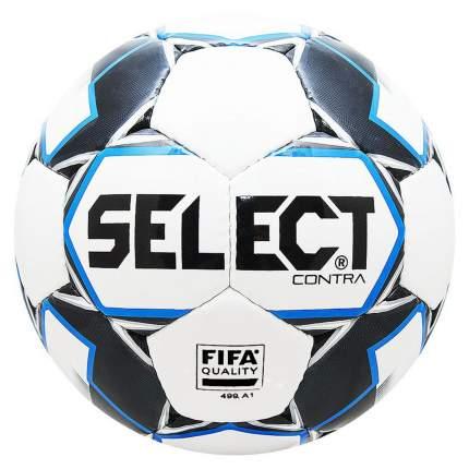 Футбольный мяч Select Contra FIFA №5 white/blue