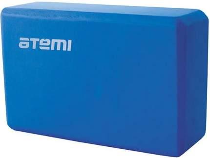 Блок для йоги Atemi AYB01 синий