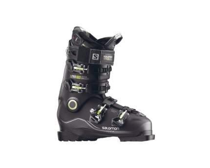 Горнолыжные ботинки Salomon X Pro 110 2018, black/metablack, 28.0