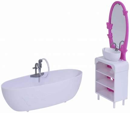 Мебель для ванной комнаты куклы Штеффи
