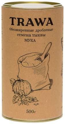 Мука Trawa из обезжиренных семян тыквы 500 мл