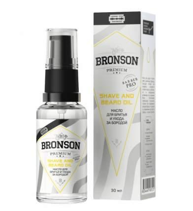 Масло для бритья и ухода за бородой Bronson Premium 30 мл
