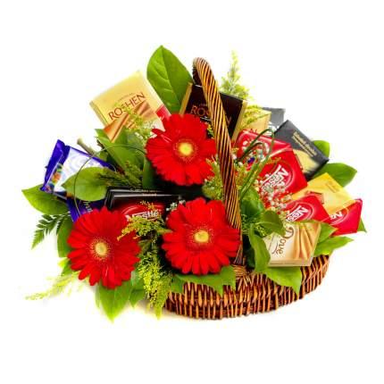 Букет Flora Express Сладкая корзина