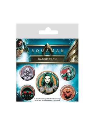 Набор значков Pyramid Aquaman - Heavy Hitters Of The Seas (5 шт) BP80654