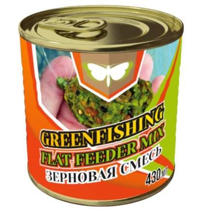 Добавка Зерновой микс Флет Фидер для ловли крупной рыбы, 0,43 л, фруктовый