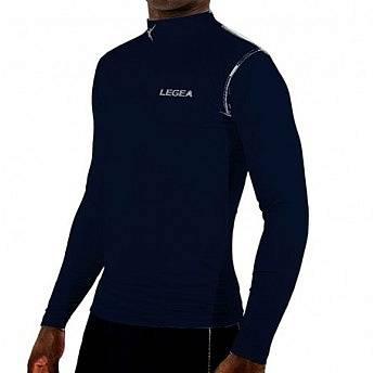 Лонгслив компрессионный Legea T-Shirt Body 6 Dynamic, темно-синий, XXS