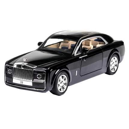 Коллекционная модель машины представительский седан RR HPH инерционная 20см , цв. черный