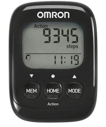 Шагомер Omron Walking Style IV черный