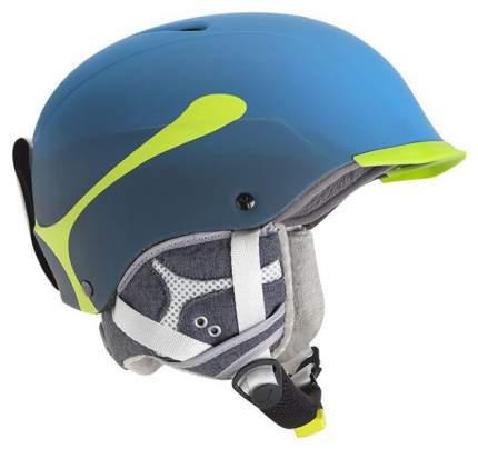 Горнолыжный шлем мужской Cebe Contest Visor Pro 2017, голубой, XL