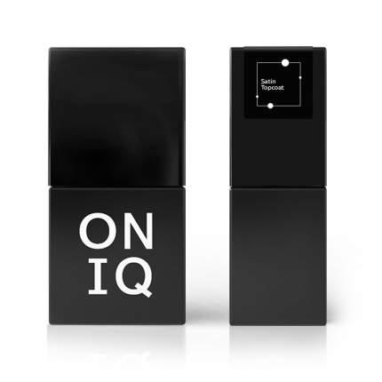 Финишное покрытие Oniq Satin Topcoat с сатиновым эффектом 10 мл