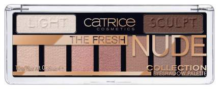 Тени для век Catrice The Fresh Nude Collection Eyeshadow Palette 010 Newly Nude 10 г