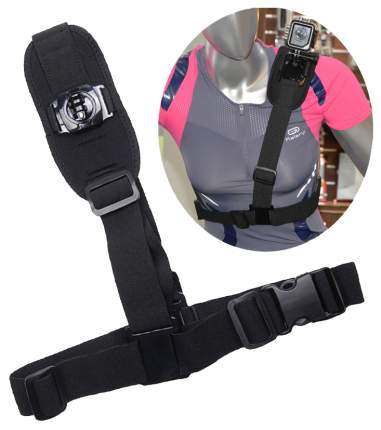 Крепление для экшн-камеры SJCAM Shoulder Harness Mount Черный