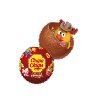 Шар из молочного шоколада Chupa Chups с сюрпризом 20 г