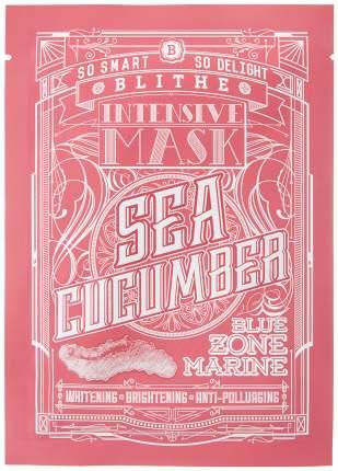 Маска для лица Blithe Blue Zone Marine Intensive Mask Sea Cucumber 25 мл