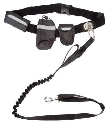 Поводок для собак I.P.T.S. Beeztees Handsfree для пробежки 17 х 8 х 28 см черный