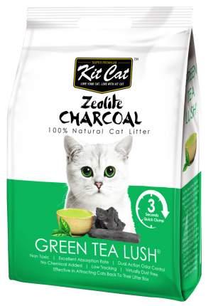 Комкующийся наполнитель туалета для кошек Kit Cat Zeolite Charcoal Green Tea Lush 4 кг