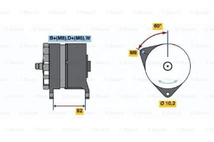 Генератор Bosch 0 120 468 088