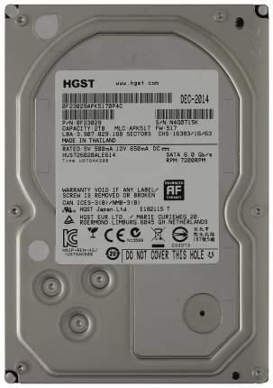 Внутренний жесткий диск HGST Ultrastar 7K6000 2TB ( HUS726020ALE614)