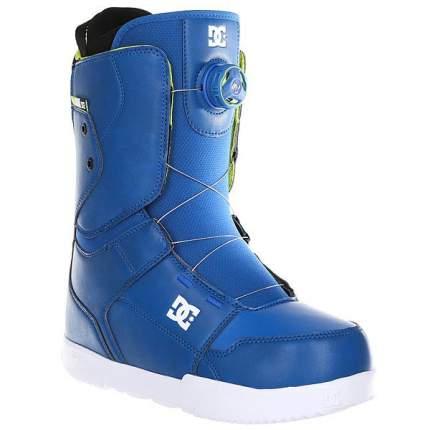 Ботинки для сноуборда DC Scout 2017, blue, 29