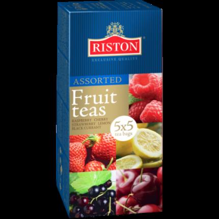Чай черный Riston фруктовое ассорти 25 пакетиков