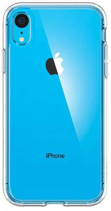 Чехол Spigen Ultra Hybrid (064CS24873) для iPhone XR (Crystal Clear)