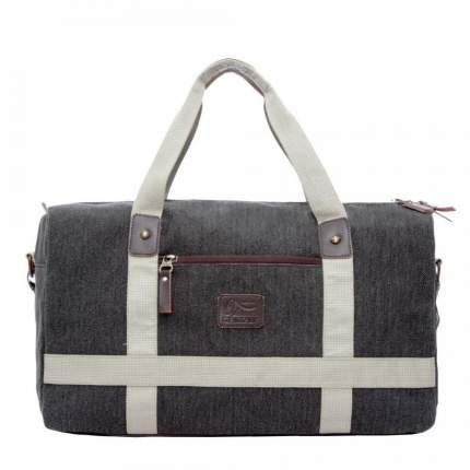 Дорожная сумка Grizzly TU-851-3 черная/бежевая 29 x 19 x 49