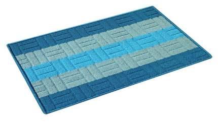 Коврик текстильный Vortex Milan голубой 40x60 см