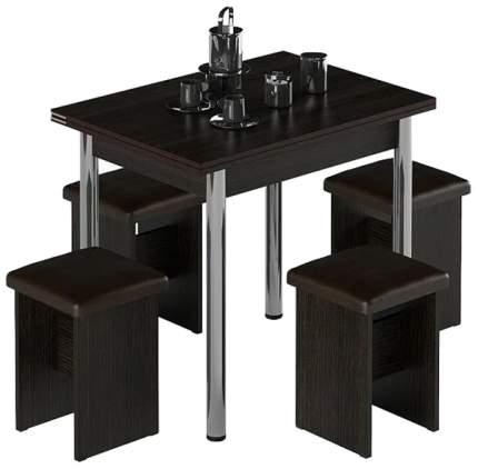 Набор кухонный Наша мебель Дижон-Лайт Коричневый