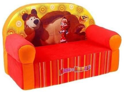Мягкий диван СмолТойс Маша и Медведь детский