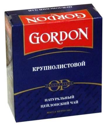 Чай Gordon черный крупнолистовой 100 г