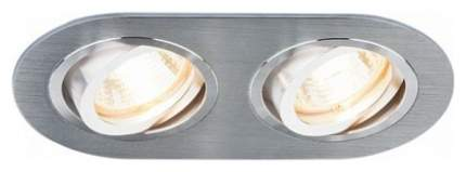 Встраиваемый точечный повортный светильник Elektrostandard 1061/2 MR16 SL Серебро a036418