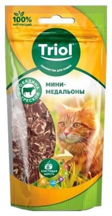 Лакомство для кошек Triol Мини-сердечки Говядина с треской 40 г