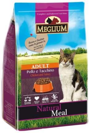 Сухой корм для кошек Meglium Adult, индейка, курица, 0,4кг