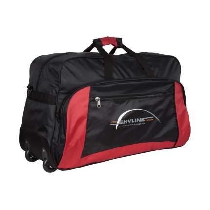 Дорожная сумка Polar 6025 красная 75 x 44 x 27