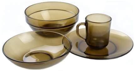 Набор столовой посуды Basilico Дымка 19 пр