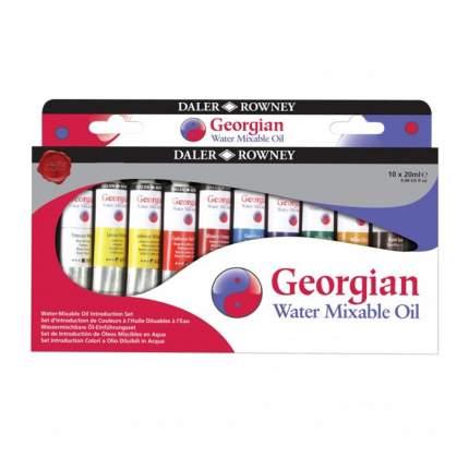 Масляные краски Daler Rowney Introduction Georgian 10 цветов