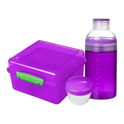 Sistema Набор Lunch: ланчбокс (2 л) и бутылка (480 мл)