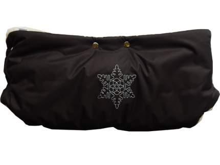 Муфта для коляски Папитто Снежинка Черный 1172