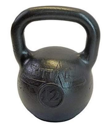 Гиря цельнолитая Titan 12 кг