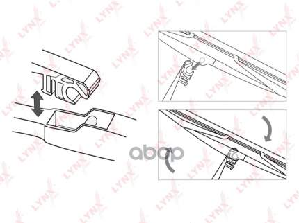 Щетка стеклоочистителя LYNXAUTO lr35e