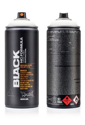 Аэрозольная краска Montana Black белый 400 мл