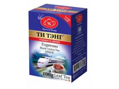 Чай весовой черный Ти Тэнг Expresso Pekoe 100 г